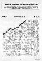 Map Image 021, Crow Wing County 1988